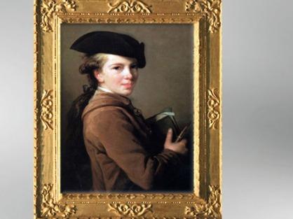 D'après un portrait de Louis Jean-Baptiste Étienne Vigée, frère de l'artiste, 1773, Élisabeth Louise Vigée Le Brun.(Marsailly/Blogostelle)