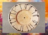 D'après un plat en céramique, adage écrit en coufique, X-XIe siècle apjc, Nichapour ou Samarkand, Iran ancien. (Marsailly/Blogostelle.)