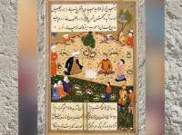 D'après une image du poème de Rumi dédié à Shams, 1500 apjc. (Marsailly/Blogostelle.)