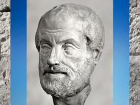 D'après Aristote, copie romaine du Ier - IIe siècle apjc, d'un bronze du Grec Lysippe, fin IVe siècle avjc. (Marsailly/Blogostelle)