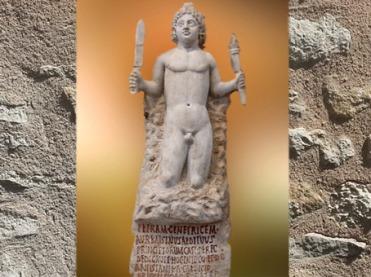 D'après la Naissance de Mithra de la Pierre, IIe siècle apjc, Rome, époque Romaine. (Marsailly/Blogostelle)