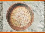 D'après une coupe peinte, terre cuite, Samarra, vers 5000 avjc, Tell es-Sawwan, Irak. (Marsailly/Blogostelle.)