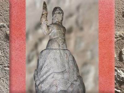 D'après la naissance de Mithra de la Pierre, marbre, art romain, IIe siècle apjc, Rome, Italie, époque Romaine. (Marsailly/Blogostelle)