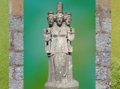 D'après la déesse Hécate, IIIe siècle apjc, Turquie, époque Romaine. (Marsailly/Blogostell