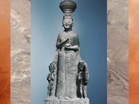 D'après la déesse Kybele-Agdistis, VIe siècle avjc, Anatolie, Ankara, Turquie. (Marsailly/Blogostelle)