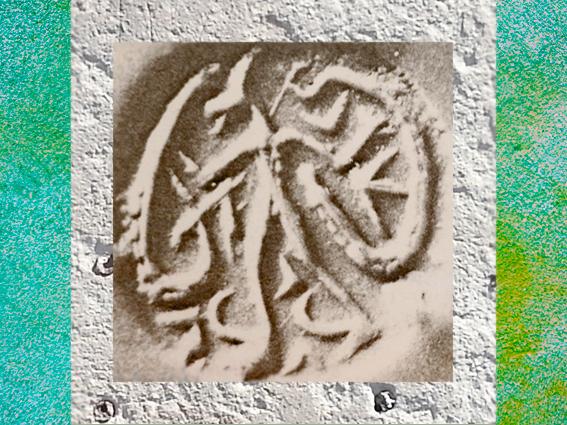D'après le Maître des Animaux, cachet gravé, vers 3800 avjc, Luristan, butin de Suse, Iran actuel, néolithique, Orient ancien. (Marsailly/Blogostelle)