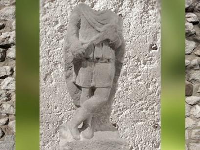 D'après Cautopatès, mithraeum, mur d'Hadrien, Angleterre, époque romaine. (Marsailly/Blogostelle)