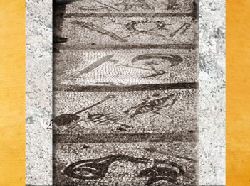 D'après les grades des Mystères de Mithra, mithraeum d'Ostie, Italie, époque Romaine.(Marsailly/Blogostelle)