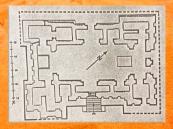 D'après le plan du temple d'Eridu, période d'Obeid, vers 4000 ans avjc, Irak actuel, Mésopotamie. (Marsailly/Blogostelle)