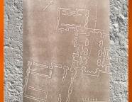 D'après les plans des trois édifices de Tépé Gaura, vers 3800 ans avjc, Assyrie. (Marsailly/Blogostelle.)