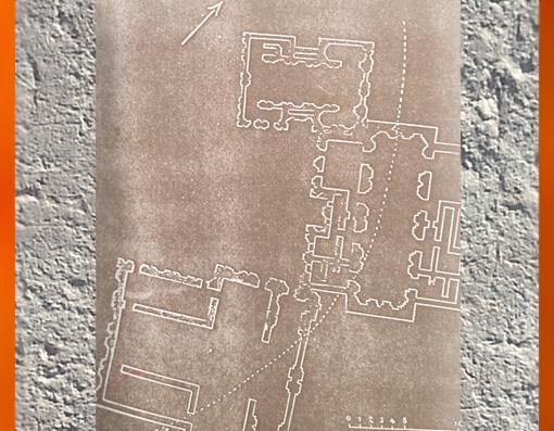 D'après les plans des trois édifices de Tépé Gaura, vers 3800 ans avjc, Assyrie, période néolithique, Orient ancien. (Marsailly/Blogostelle)