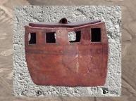 D'après un édifice miniature, Ve millénaire avjc, Iran ancien. (Marsailly/Blogostelle)