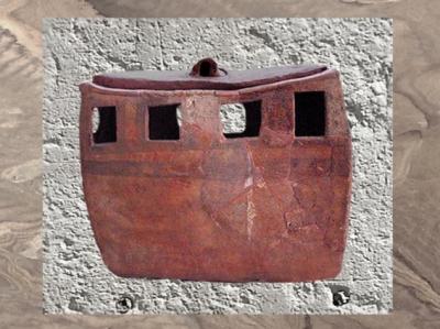 D'après un édifice miniature, Ve millénaire avjc, Iran ancien, période néolithique. (Marsailly/Blogostelle)