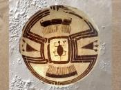 D'après une céramique à décor peint de tortue, IVe millénaire avjc, Suse, Iran. (Marsailly/Blogostelle)