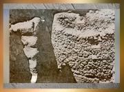 D'après des vestiges, fortification, Jéricho, VIIIe millénaire avjc, Jordanie, Levant. (Marsailly/Blogostelle)