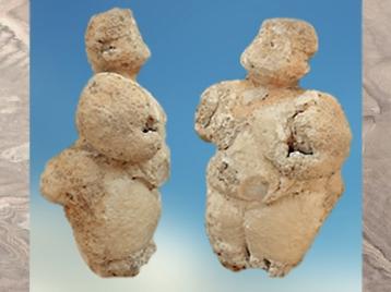 D'après une figurine féminine, Çatalhöyük, vers 7000-6000 avjc, Anatolie, Levant. (Marsailly:Blogostelle)