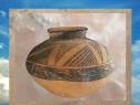 D'après une céramique peinte, période d'Obeid, Ve millénaire avjc, Tello, Irak. (Marsailly/Blogostelle.)