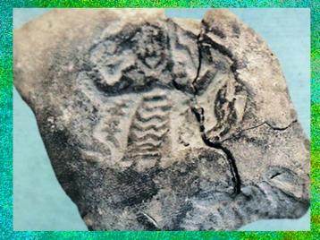 D'après le Maître des Animaux et serpents, cachet , vers 4200 - 3800 avjc, Suse, Iran actuel,néolithique, Orient ancien. (Marsailly/Blogostelle)