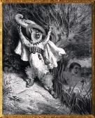 D'après Le Chat Botté de Charles Perrault illustration de Gustave Doré, (1832- 1883 apjc), XIXe siècle. (Marsailly/Blogostelle)