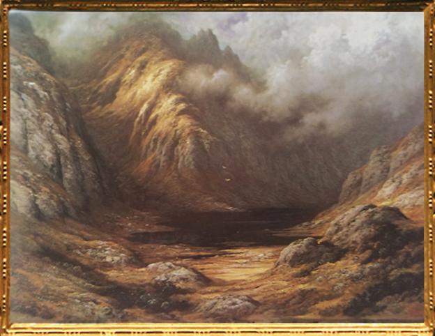 D'après Un Lac en Ecosse après l'Orage, Gustave Doré. (Marsailly/Blogostelle)