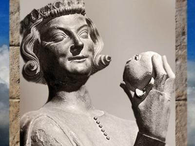 D'après Le Tentateur, cathédrale de Strasbourg, fin du XIIIe siècle, art Gothique. (Marsailly/Blogostelle)