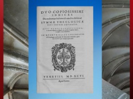 D'après La Somme Théologique de Thomas d'Aquin, publication de 1596 apjc. (Marsailly/Blogostelle)