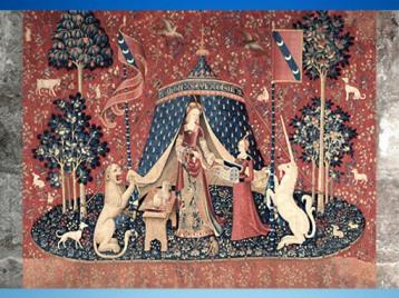 D'après A Mon Seul Désir, tapisserie La Dame à la Licorne, vers 1500 apjc, art gothique, France. (Marsailly/Blogostelle)