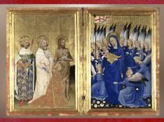 D'après le diptyque Wilton, vers 1395-1399, Angleterre ou France, Gothique International. (Marsailly/Blogostelle)