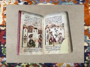 D'après un manuscrit arabe des Mille et Une Nuit, vers 1640 apjc, Egypte. (Marsailly/Blogostelle)