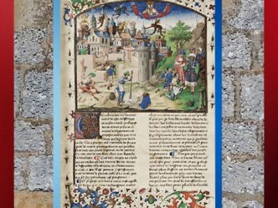 D'après la construction de Babylone, la Cité de Dieu, 413-426 apjc, Saint Augustin. (Marsailly/Blogostelle)