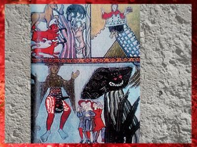 D'après la Fin des Temps, Vices, Christ, Antéchrist, Livre des Mérites de la Vie, 1163 apjc, Hildegarde de Bingen. (Marsailly/Blogostelle)