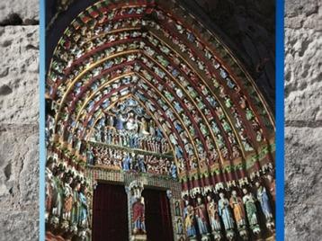 D'après la cathédrale d'Amiens, portail, 1270 apjc, art Gothique, France. (Marsailly/Blogostelle)