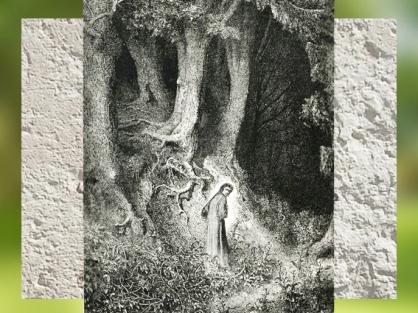 D'après Dante dans la Forêt, illustration de Gustave Doré, La Divine Comédie, XIXe siècle. (Marsailly/Blogostelle)
