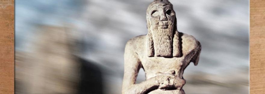 D'après le dieu Ea, ouverture, introduction, Mésopotamie. (Marsailly/Blogostelle)