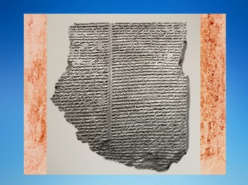 D'après le récit du Déluge, Épopée de Gilgamesh, version de Ninive, XIe tablette, Mésopotamie, actuel Irak. (Marsailly/Blogostelle)