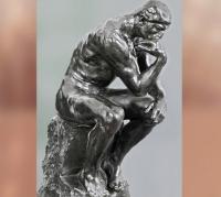 D'après Le Penseur d'Auguste Rodin (Dante Alighieri), 1880-1902 apjc. (Marsailly/Blogostelle)