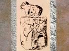 D'après un sceau surmonté d'un bélier, époque de Djemdet-Nasr, Mésopotamie, Irak actuel. (Marsailly/Blogostelle)