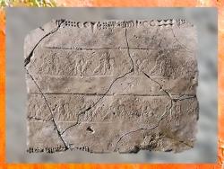 D'après des frises et écriture proto-élamite, vers 3100-2850 avjc, Pays d'Elam, Iran actuel. (Marsailly/Blogostelle)
