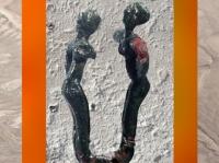 D'après des Danseuses, décor d'épingle en cuivre, vers 3000 ans avjc, Tello, Mésopotamie. (Marsailly/Blogostelle)