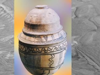 D'après une jarre, terre cuite peinte, trésor du Vase à la Cachette, Suse, milieu du IIIe millénaire avjc, pays d'Élam, Iran actuel, Orient ancien. (Marsailly/Blogostelle)