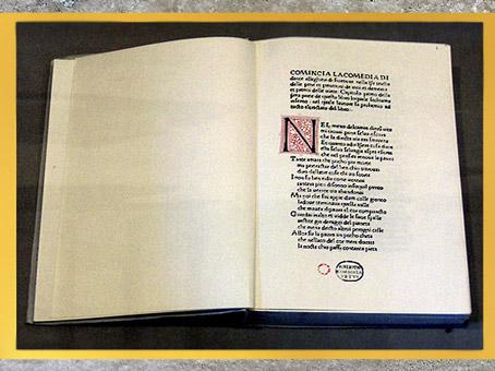 D'après la première publication sous le titre Comédie, en 1472, biblio Corsiniana, XVe siècle, Rome. (Marsailly/Blogostelle)