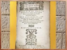 D'après la première édition sous le titre de Divine Comédie, de Dante, 1555, XVIe siècle. (Marsailly-Blogostelle)