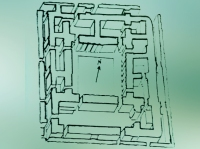 D'après l'Enceinte sacré du Palais de Mari, vers 2600-2500 avjc, période des dynasties archaïques (époque dite aussi présargonique), Syrie actuelle, Mésopotamie. (Marsailly/Blogostelle)