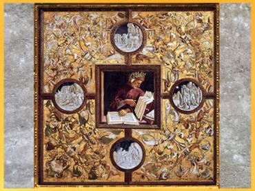 D'après Dante et la Divine Comédie, Luca Signorelli, chapelle San Brizio, Orvieto, 1499-1502, Renaissance. (Marsailly/Blogostelle)