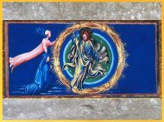 D'après le Paradis, roue, de Giovanni di Paolo, 1450, Divine Comédie, Toscane, XVe siècle, Renaissance. (Marsailly/Blogostelle)