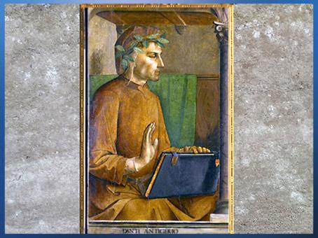 D'après Dante Alighieri, de Gand Juste, studiolo de Frédéric III de Montefeltro, XVe siècle, Renaissance. (Marsailly/Blogostelle)