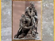 D'après Ugolin della Gherardesca et ses fils, l'Enfer, Divine Comédie, Jean-Baptiste Carpeaux, XIXe siècle. (Marsailly/Blogostelle)