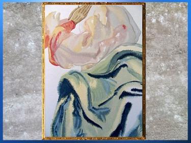 D'après l'Empyrée, La Divine Comédie, Salvador Dali, 1950, aquarelle, XXe siècle, citation. (Marsailly/Blogostelle