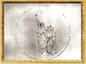 D'après le Paradis, le Ciel du Soleil, Sandro Botticelli, 1480-1495, Divine Comédie, XVe siècle, Renaissance. (Marsailly/Blogostelle)