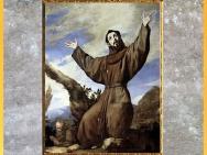 D'après Saint François d'Assise, Divine Comédie, de Jusepe de Ribera, 1642, XVIIe siècle, période Baroque. (Marsailly/Blogostelle)